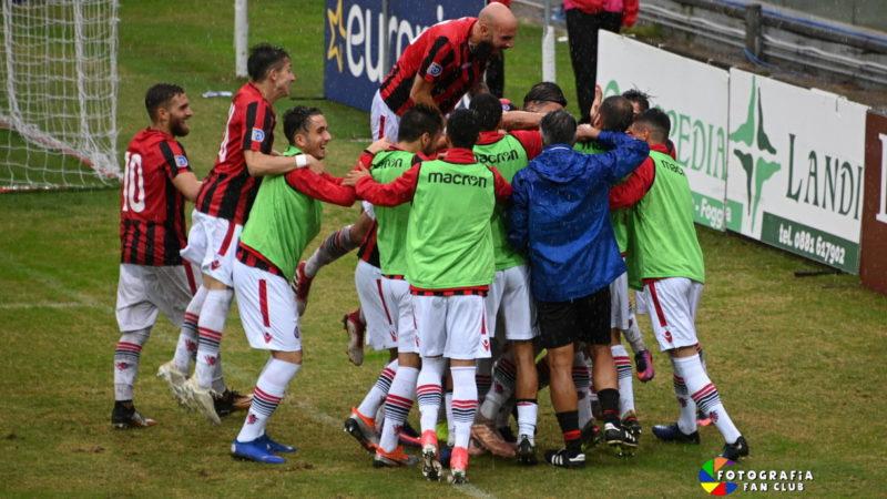 FOGGIA-GRUMENTUM 1-0 LA DECIDE STAIANO