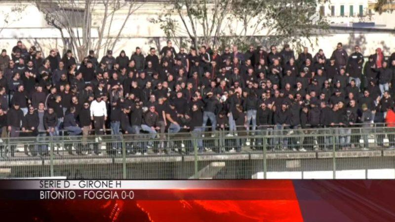BITONTO-FOGGIA 0-0: FINISCE A RETI BIANCHE