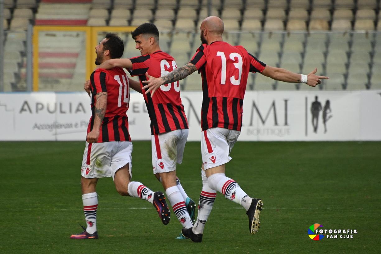 FOGGIA-NARDO' 2-0 SUCCESSO PER I SATANELLI