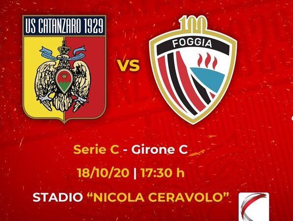 Catanzaro – Foggia Calcio post partita 18 Ottobre 2020