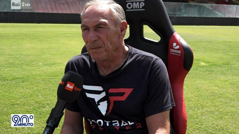 Intervista Video Zeman a 90 Minuto dal Var al Foggia 29 Agosto 2021 Rai Due