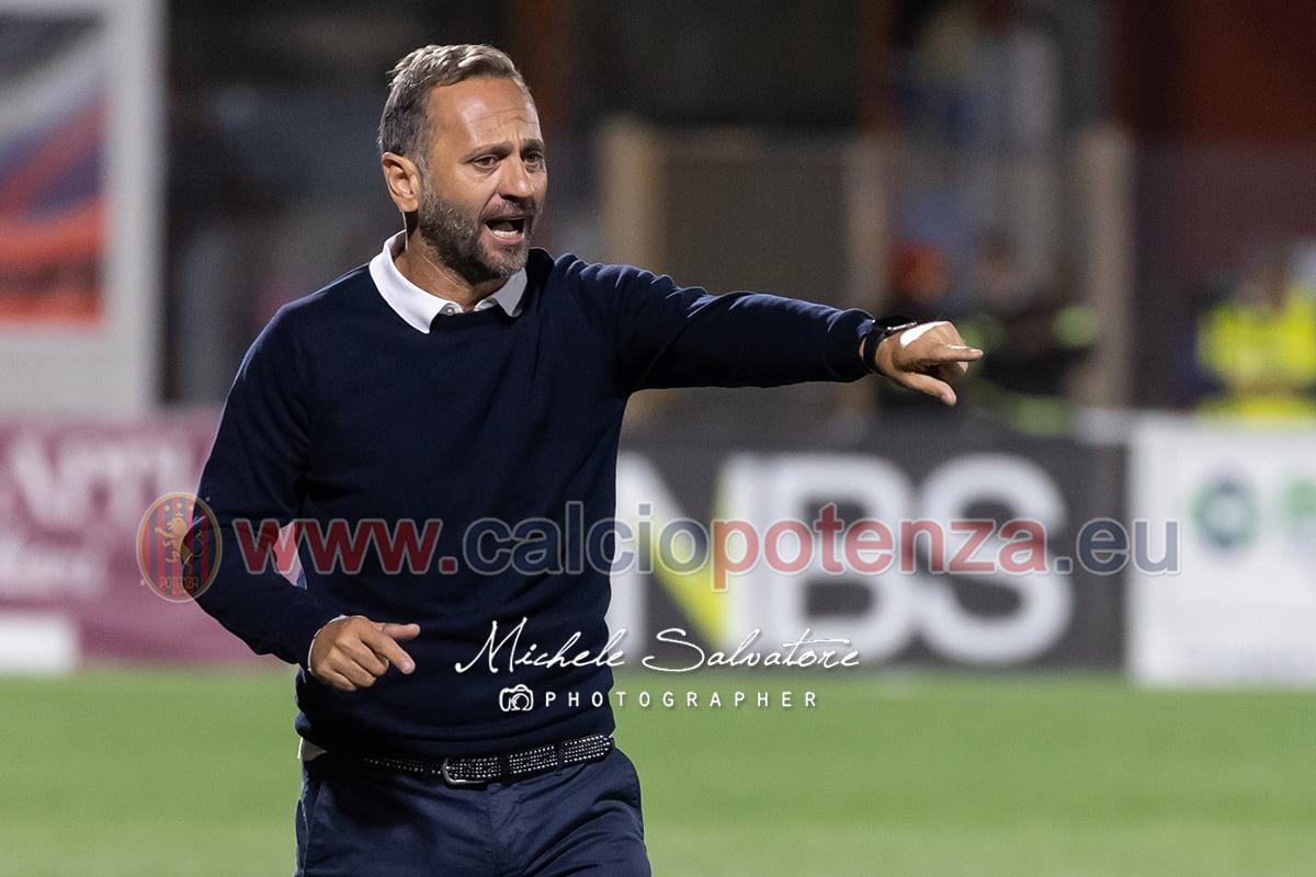 """Intervista Esclusiva al Mister del Potenza Calcio Fabio Gallo. """"Cercheremo di fare la nostra partita e cercheremo di metterli in difficoltà"""""""