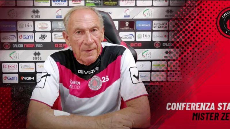 Conferenza Stampa Zdenek Zeman alla Vigilia di Foggia Calcio Potenza Calcio 5 Settembre 2021